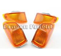 Cheap High Quality Turn Signals Indicator Light Blinker Lens Front & Rear For KAWASAKI ZZR 400 1990-1992 Amber