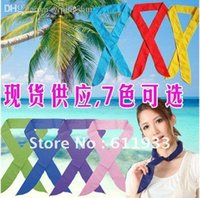 Wholesale Hot Selling Summer Ice Scarf Super Cool Cooling Headband cool Ice towel cold water neck cooler cool scarf