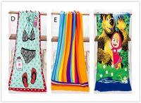 beach baby shower - Fashion Hot cm Absorbent Microfiber Bath Beach Towel Drying Washcloth Swimwear Shower For Gift