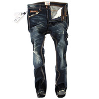 Wholesale New Famous Brand Mens jeans High Quality Italian Famous Brand Ripped jeans men robin jeans Big Size Cotton