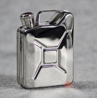 alcohol gift boxes - new design Portable oz Mini Mirror oil drum Stainless Steel Hip Flask Alcohol Flagon hip flasks