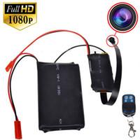 achat en gros de mouvement vidéo-Mini caméra spy cam Hidden Cameras caméscope HD 1080P vidéo DIY Module Mini DV DVR mouvement des caméras de surveillance de contrôle à distance