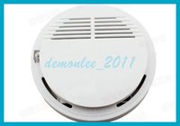 Cheap Home Security System Smoke Detector Alarm Fire Sensor Independent Sensor High Sensitivity Easy to install Free Shipping