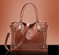Wholesale 2014 autumn and winter genuine leather women s handbag Cowhide one shoulder messenger bag for women Hot selling leather bags