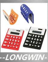 Wholesale digits solar calculator Silica gel soft keyboard