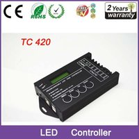 Wholesale LED Time Dimmer RGB Controller TC420 DC12V V Channel Total Output A Common Anode Programmable