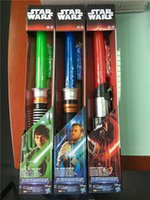 Wholesale fashion colors star wars laser sword lightsabers attachable laser lightsabers LED toy star wars cosplay D537