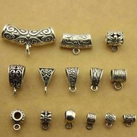 Wholesale Ancient silver alloy Spacers Retro DIY Accessories Beading Material Tibetan silver Beads Connectors Jewelry Findings