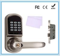 digital door lock - Zinc alloy digital door lock user capacity up to users with European standard mortise by DHL