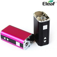 Wholesale Authentic ismoka eleaf istick mini w box mod LED Screen MOD e cigarette Eleaf iStick mini kit mah battery Box Mod