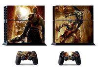 Cheap GOW 210 Vinly Skin Sticker Protector for Sony PS4 PlayStation 4 and 2 controller skins Stickers Free Shipping