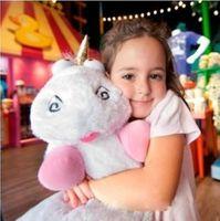 large stuffed animals - Despicable Me Unicorn Fluffy Plush Toy Large CM inch Movie Soft Stuffed Unicorn Horse Animal Plush Toys Dolls for Children DM10169