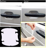 automobile protective film - Universal Invisible Car Door Handle Protector Automobile Shakes Vinyl Films car Handle Protective Scratches