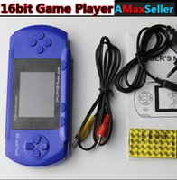 video games - New Portable inch Handheld Game Player Bit Video Game Console TV Out bit Pocket games player with retail box for Kid gifts