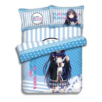 Wholesale Japan Anime my youth romantic comedy is wrong as i expected Yukinoshita Yukino Bed Blanket or Duvet Cover with Two Pillow cases