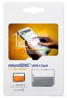 Cheap Free shipping EVO 128GB Class 10 Micro SD card Android Robot microSDHC 128 GB microSD micro SDHC UHS-1 UHS-I U1 128GB TF Card