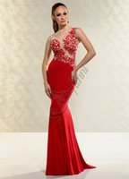 Cheap Pageant dresses teens 2015 Sheath See Through Lace Red Crew Neckline Sleeveless Floor Length Formal Evening Dresses Prom Dresses