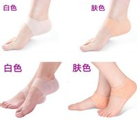 Wholesale foot care series Silicone heel cover pad podoschisis protective jacket as wearproof heel crack prevention mat relieve heel pain