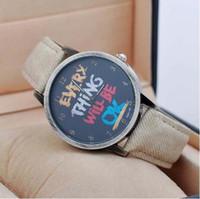 analog jeans - 4 Colors Casual Style Jeans Bracelet Quartz Wrist Watch Ladies Women Students Gift Watch J020