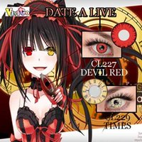 free japanese girl - girls cosplay date a live JAPANESE ANIME color contact lenses cosplay lense CL227 AND CL229