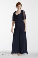 ankle pops - Plus Size Long Mesh Dress with Sleeve Lace Pop Over Style D Mother of the Bride Dresses