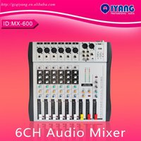 Wholesale MX ch channels good quality hot sell USB professional audio dj mixer