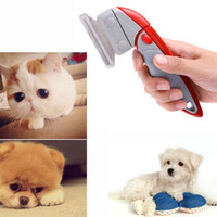 Wholesale Hair Removal Comb for Cats Dogs Pets Grooming Hairbrush Remover Cleaning Brush Tool Pet Products H13644