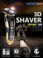beard electric - Electric Shaver epilator Rechargeable Rotary Waterproof Washable face care beard trimmer D Head RAZOR BLADES men AY003