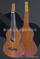 Wholesale 40 quot Mahogany full solid plate heightening lace ebony fretboard Hawaii s guitar GM1310H