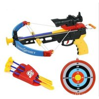 Wholesale Crossbow Toy Gun With Infrared Nerf Gun Toy Crossbow Indoor Sports Toy Sets Children