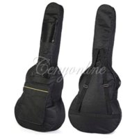 bass guitar soft case - Classic Soft Acoustic Guitar Bass Case Bag Holder With Double Padded Straps Inch Convenient Music Fan