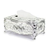 Wholesale 2016 New Fashion Tissue Holder High Quality Europea style Acrylic Napkin Dispenser Creative Acrylic Tissue Box TB001