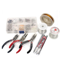 Wholesale 1 SET JEWELLERY MAKING KIT BEADS FINDINGS PLIERS Fit Jewelry Accessories DIY
