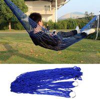 amazing bedding - Amazing Potable Nylon Parachute Outdoor Net Bed Portable Large Size x80cm Camping Survival Hammock Outdoor Sleeping
