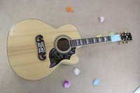 Wholesale belief14 high quality Real photo Burlywood hummingbird HS acoustic guitar
