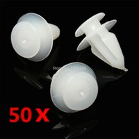 Wholesale 50pcs Plastic Interior Door Card Mounting Clips Trim Panel Cover For Vauxhall Opel
