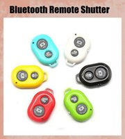 Wholesale Wireless Bluetooth Remote Shutter Control for Extendable Self Portrait Selfie Stick Handheld Monopop IOS Android Phones OTH011
