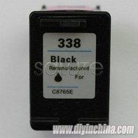 Remanufaturados para HP 338 cartucho de tinta preta para HP C8765E para HP DJ 6840/9800 / 9800d / 6210 Inkjet Printer Frete grátis