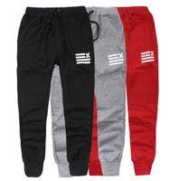 Wholesale HII Biker Joggers Skinny Sweatpants Baggy pants men Hip hop harem pants Homens Sport Jogging