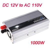 Wholesale New Portable W Car Power Inverter DC V to AC V Charger Converter Transformer With Cigaratte Plug Cable