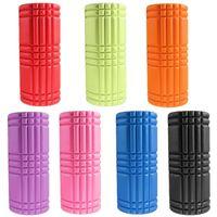 Wholesale Hot sale colors Yoga Blocks Fitness Gym Sports EVA foam Yoga Pilates Fitness Round Foam Roller With Massage Floating Point