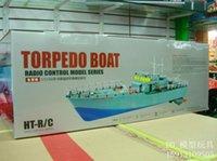 El nuevo control remoto modelo de buque Hengtai HT2877A control remoto control remoto barco militar de misiles de buque destructor de barcos