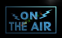 advertise radio - LB066 TM ON THE AIR Radio Recording Studio Light Signs Advertising led panel jpg