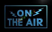 achat en gros de signe d'enregistrement-LB066-TM SUR LES AIR radio Studio d'enregistrement Signalisation lumineuse. La publicité. panel.jpg conduit