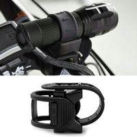 Wholesale Universal Bike Light Holder Rubber Bicycle Holder Bike Light Torch Holder Cycling Clip Bracket