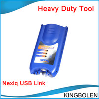 For BMW auto diagnose tools - DHL Auto scan tool NEXIQ USB Link Software Diesel Truck Diagnose Interface Nexiq USB Link Full Set One year warranty