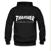 couples sweater - Thrasher hedging fleece hooded sweater tide brand in Europe and America Thrasher skateboard sweatershirt hiphop male and female couple