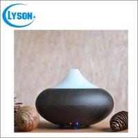 Wholesale Classical Ultrasonic Aroma Oil Diffuser Ionizer Generator Aromatherapy Office Home SPA Wood Grain Aroma Diffuser Mist Maker