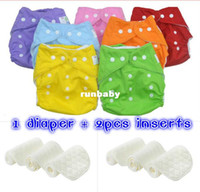 Wholesale 1PCS TPU waterproof reusable BABY CITY baby cloth diapers nappies inserts