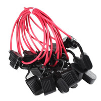 automotive wire sizes - 10pcs14AWG Medium Size Blade Fuse Holder Car Automotive Wire In Line Standard Splash Fuseholder Waterproof A Fuses